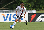 27 June 2008: The United States' Alex Molano. The United States 2009 Under-17 Men's National Team lost to the Bridge FC U16s 1-3 at McPherson Stadium at Bryan Soccer Park in Brown's Summit, NC as part of the U.S. Soccer Federation Development Academy Summer Showcase which is part of the 2007-2008 regular season.