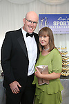 2/8/2014   (with compliments).          Alan's Sport Extravaganza Slick and Stylish Ball in the South Court Hotel, Limerick which was held in memory of Alan Feeley and in aid of the Irish Kidney Association(IKA).  Pictured are  Pat and Aine Kiely, Tarbert, Kerry.  Picture Liam Burke/Press 22