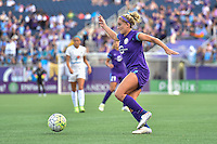 Orlando, FL - Saturday Sept. 24, 2016: Camille Levin during a regular season National Women's Soccer League (NWSL) match between the Orlando Pride and FC Kansas City at Camping World Stadium.