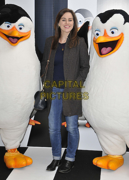 LONDON, ENGLAND - NOVEMBER 29: Jill Halfpenny attends the &quot;Penguins Of Madagascar 3D&quot; multimedia screening, Vue West End cinema, Leicester Square, on Saturday November 29, 2014 in London, England, UK. <br /> CAP/CAN<br /> &copy;Can Nguyen/Capital Pictures