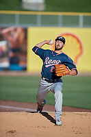 Reno Aces starting pitcher Braden Shipley (24) throws before the game against the Salt Lake Bees at Smith's Ballpark on June 26, 2019 in Salt Lake City, Utah. The Aces defeated the Bees 6-4. (Stephen Smith/Four Seam Images)