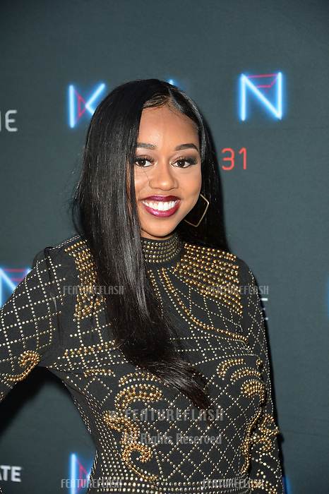 "LOS ANGELES, CA. August 29, 2018: Maya Jenkins at the premiere of ""KIN"" at the Arclight Theatre, Hollywood."
