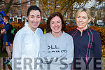 Yvonne Eggleston, Mary Ross (Tralee) and Ann Marie Daly (Tralee) at the 200th Tralee Park Run on Saturday