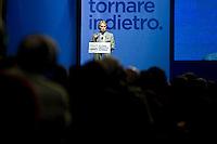 Rome, 15 Febbraio, 2013. Il Presidente della Ferrari Luca Cordero di Montezemolo durante la campagna elettorale per l'allenza di centro Con Monti per l'Italia e la Scelta Civica con la Lista Civica