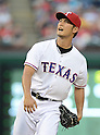 Yu Darvish (Rangers),<br /> JULY 22, 2013 - MLB :<br /> Pitcher Yu Darvish of the Texas Rangers during the Major League Baseball game against the New York Yankees at Rangers Ballpark in Arlington in Arlington, Texas, United States. (Photo by AFLO)