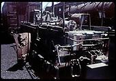 Detail of D&amp;RGW flanger car mechanisms.<br /> D&amp;RGW