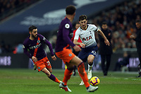 Ben Davies of Tottenham Hotspur and Kyle Walker of Manchester City during Tottenham Hotspur vs Manchester City, Premier League Football at Wembley Stadium on 29th October 2018