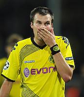 FUSSBALL   CHAMPIONS LEAGUE   SAISON 2011/2012  Borussia Dortmund - Arsenal London        13.09.2001 Kevin GROSSKREUTZ (Borussia Dortmund)
