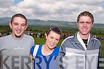 RACING: Viewing the action at the Motocross racing on Sunday in Milltown were Niall O'Shea (Milltown), Cara Connolly (Castleisland) and Paul Galvin (Milltown).   Copyright Kerry's Eye 2008