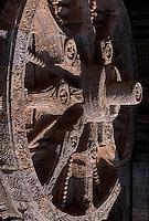 Sonnentempel in Konarak (Konark), Orissa, Indien, Unesco-Weltkulturerbe