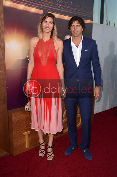 "Delfina Blaquier, Nacho Figueras<br /> at ""The Last Tycoon"" Red Carpet Premiere Screening, Harmony Gold Theater, Los Angeles, CA 07-27-17<br /> David Edwards/DailyCeleb.com 818-249-4998"