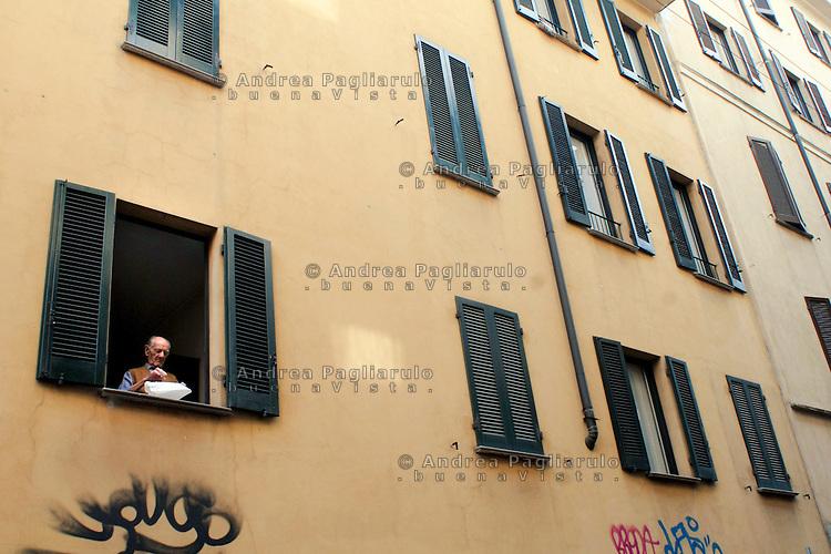 Milano, palazzo in via Scaldasole.