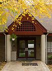 Oct. 23, 2012; Fischer-O'Hara-Grace Community Center door..Photo by Matt Cashore/University of Notre Dame