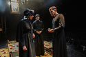 """""""Doubt - a Parable"""", written by John Patrick Shanley and directed by Che Walker, opens at Southwark Playhouse. Picture shows: Stella Gonet (Sister Aloysius), Clare Latham (Sister James), Jonathan Chambers (Father Brendan Flynn)"""