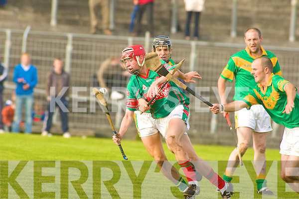 Kilmoyley v Crotta O'Neills in the AIB Senior Hurling County Championship