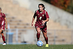 03 November 2013: Boston College's Stephanie McCaffrey. The University of North Carolina Tar Heels hosted the Boston College Eagles at Fetzer Field in Chapel Hill, NC in a 2013 NCAA Division I Women's Soccer match and the quarterfinals of the Atlantic Coast Conference tournament. North Carolina won the game 1-0.