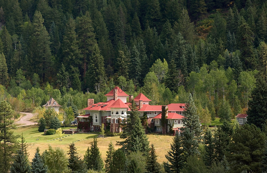 The Redstone Castle, built in 1899. Redstone, CO. © Michael Brands. 970-379-1885.