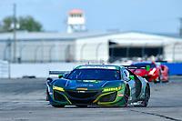 IMSA WeatherTech SportsCar Championship<br /> Sebring February Test<br /> Sebring, Florida, USA<br /> Thursday 22 February 2018<br /> #36 CJ Wilson Racing Acura NSX, GTD: <br /> World Copyright: Richard Dole<br /> LAT Images