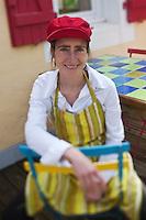 Europe/France/Bretagne/56/Morbihan/ Belle-Ile-en-Mer/Locmaria: Marguerite Gabillet chef du restaurant Chouk'azé