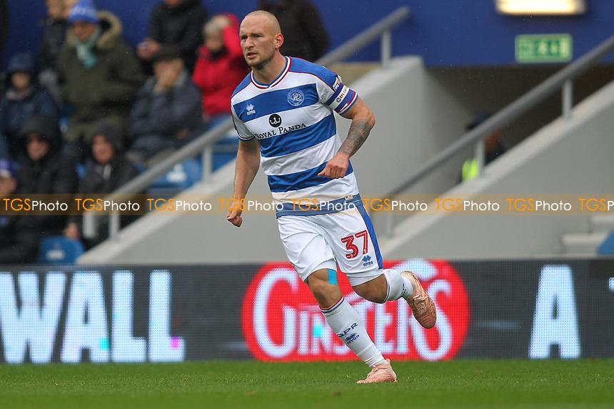 Toni Leistner of Queens Park Rangers during Queens Park Rangers vs Derby County, Sky Bet EFL Championship Football at Loftus Road Stadium on 6th October 2018