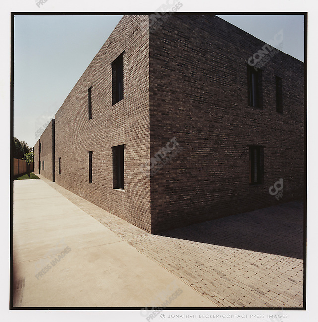 The Beijing Gallery, designed by Ai Weiwei, Beijing, China, 2007