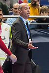 Palma Futsal coach Eduardo Sao Thiago during Futsal Spanish Cup 2018 at Wizink Center in Madrid , Spain. March 15, 2018. (ALTERPHOTOS/Borja B.Hojas)