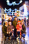 Margaret, Laura and Aine O'Shea, Colm O'Connor, Ciara O'Sullivan and Niamh Broderick from Killarney at the Christmas in Killarney Children's Magic Parade last Saturday.