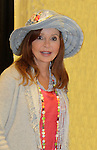 """Jacklyn Zeman """"Bobbie Spencer"""" - General Hospital wearing a Jane Elissa hat as they raise money for Leukemia and Cancer Research. (Photo by Sue Coflin/Max Photos)"""