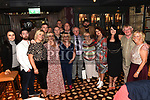 Tommy Cowley celebrating his 70th birthday in The Westcourt Hotel with family and friends. Photo:Colin Bell/pressphotos.ie