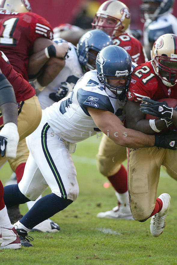 LOFA TATUPU, of the Seattle Seahawks ,during their game against  the  San Francisco 49ers on Novmeber 19, 2006 in San Francisco, CA...49ers win 20-14..Rob Holt / SportPics
