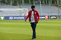 Nathaniel Chalobah of England inspects the pitch before England Under-21 vs Poland Under-21, UEFA European Under-21 Championship Football at The Kolporter Arena on 22nd June 2017