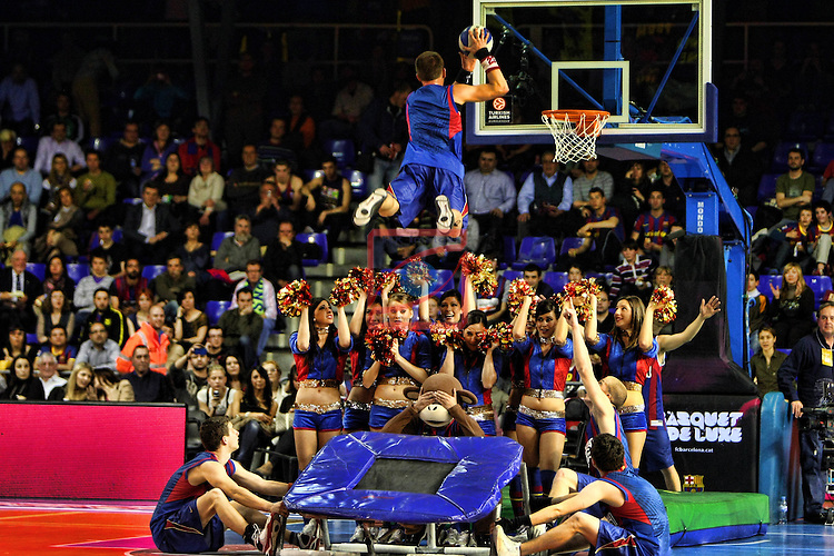 Dream Cheers - Regal FC Barcelona vs Panathinaikos: 71-75 - Euroleague 2010/11 - Playoffs - Game: 2.