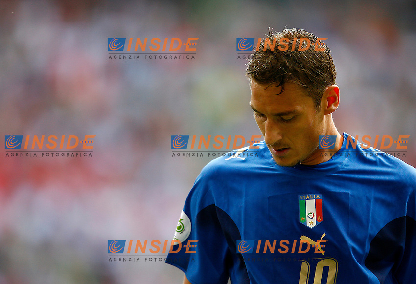 HAmburg 22/6/2006 World Cup 2006.Repubblica Ceca Italia 0-2 0-2.Photo Andrea Staccioli Insidefoto.Francesco Totti Italy