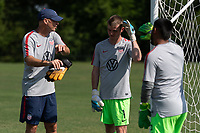 Rome, GA - Friday, June 21, 2019:  Mike McGinty, Carter Alvey, Marc Estrella during a Para 7 USMNT training session.
