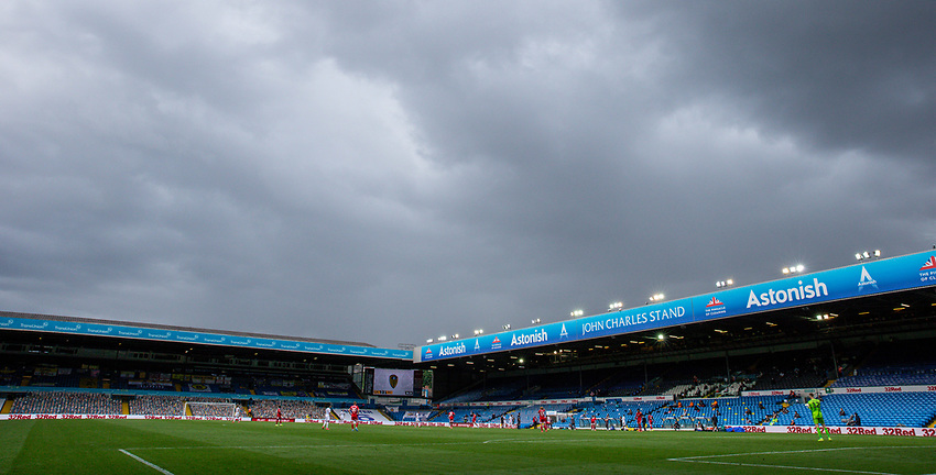 A general view of Elland Road, home of Leeds United<br /> <br /> Photographer Alex Dodd/CameraSport<br /> <br /> The EFL Sky Bet Championship - Leeds United v Fulham - Wednesday 24th June 2020 - Elland Road - Leeds<br /> <br /> World Copyright © 2020 CameraSport. All rights reserved. 43 Linden Ave. Countesthorpe. Leicester. England. LE8 5PG - Tel: +44 (0) 116 277 4147 - admin@camerasport.com - www.camerasport.com<br /> <br /> Photographer Alex Dodd/CameraSport<br /> <br /> The Premier League - Newcastle United v Aston Villa - Wednesday 24th June 2020 - St James' Park - Newcastle <br /> <br /> World Copyright © 2020 CameraSport. All rights reserved. 43 Linden Ave. Countesthorpe. Leicester. England. LE8 5PG - Tel: +44 (0) 116 277 4147 - admin@camerasport.com - www.camerasport.com