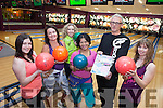 "A charity Bowling Zumba evening takes place at Bowling Buddies Tralee in aid of ""Friends of the Children of Emaus tonight (Thursday). Pictured were: Mags Foran, Jacqui Lythgoe, Helen Leahy, Linda Flanagan, Gavin Lythgoe and Karen O'Mahony."