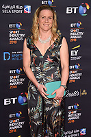 Nolli Waterman<br /> arriving for the BT Sport Industry Awards 2018 at the Battersea Evolution, London<br /> <br /> ©Ash Knotek  D3399  26/04/2018