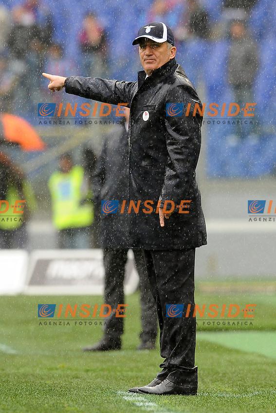 Vladimir Petkovic, allenatore della Lazio.30/03/2013 Roma.Stadio Olimpico.Football Calcio 2012 / 2013 .Campionato di calcio serie A.Lazio vs Catania 2-1.Foto Insidefoto / Antonietta Baldassarre.
