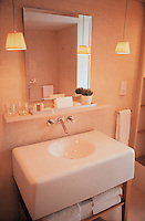 bathroom at the st martins lane hotel in london