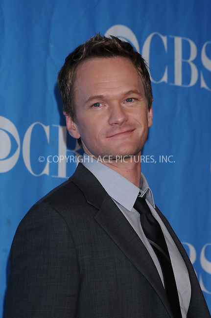 WWW.ACEPIXS.COM . . . . . ....May 20 2009, New York City....Neil Patrick Harris at the 2009 CBS Upfront at Terminal 5 in Manhattan on May 20, 2009 in New York City.....Please byline: AJ SOKALNER - ACEPIXS.COM.. . . . . . ..Ace Pictures, Inc:  ..tel: (212) 243 8787 or (646) 769 0430..e-mail: info@acepixs.com..web: http://www.acepixs.com