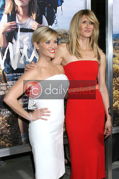 """Reese Witherspoon, Laura Dern<br /> at the """"Wild"""" Los Angeles Premiere, AMPAS Samuel Goldwyn Theater, Beverly Hills, CA 11-19-14<br /> David Edwards/Dailyceleb.com 818-249-4998"""