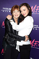 LOS ANGELES - OCT 2: Francesca Eastwood, Frances Fisher at the premiere of Dark Sky Films' 'M.F.A.' at The London West Hollywood on October 2, 2017 in West Hollywood, California