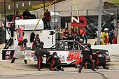 #54: Natalie Decker, DGR-Crosley, Toyota Tundra N29 Technologies LLC pit stop