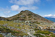Mount Monroe from the Appalachian Trail during the summer months. Located in the White Mountains, New Hampshire USA