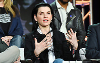 PASADENA, CA - FEBRUARY 10:  Julianna Margulies attends the The Hot Zone panel at the 2019 National Geographic portion of the Television Critics Association Winter Press Tour at The Langham Huntington Hotel on February 10, 2019 in Pasadena, California. (Photo by Vince Bucci/National Geographic/PictureGroup)