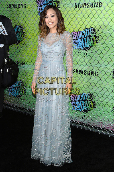 NEW YORK, NY - AUG 01: Karen Fukuhara attends the World Premiere of &quot;Suicide Squad&quot; at the Beacon Theatre on August 1, 2016 in NEW YORK CITY.<br /> CAP/LNC/TOM<br /> &copy;TOM/LNC/Capital Pictures