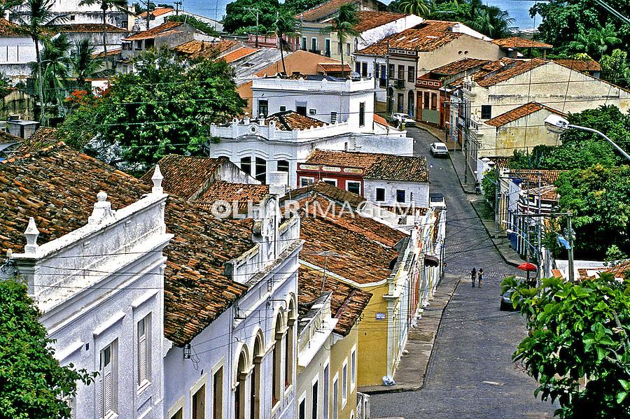 Cidade de Olinda em Pernambuco. 2001. Foto de Juca Martins.