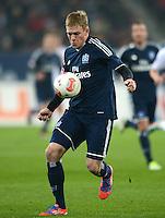 FUSSBALL   1. BUNDESLIGA  SAISON 2012/2013   9. Spieltag FC Augsburg - Hamburger SV           26.10.2012 Artjoms Rudnevs (Hamburger SV)