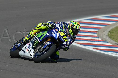 01.04.2016. Termas de Río Hondo, Santiago del Estero, Argentina. MotoGP of Argentina, free practise.  Valentino Rossi