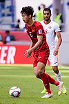 Doan Van Hau of Vietnam in action during the AFC Asian Cup UAE 2019 Round of 16 match between Jordan (JOR) and Vietnam (VIE) at Al Maktoum Stadium on 20 January 2019 in Dubai, United Arab Emirates. Photo by Marcio Rodrigo Machado / Power Sport Images